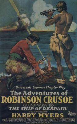 The Adventures of Robinson Crusoe movie poster (1922) poster MOV_bc2fd5f6