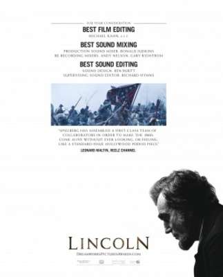 Lincoln movie poster (2012) poster MOV_bc3b0b05