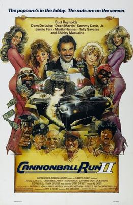 Cannonball Run 2 movie poster (1984) poster MOV_bc3b53d6
