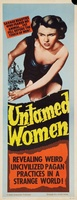 Untamed Women movie poster (1952) picture MOV_bc743cb3