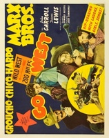 Go West movie poster (1940) picture MOV_bc8f19c4
