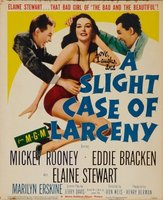 A Slight Case of Larceny movie poster (1953) picture MOV_bc98ba81