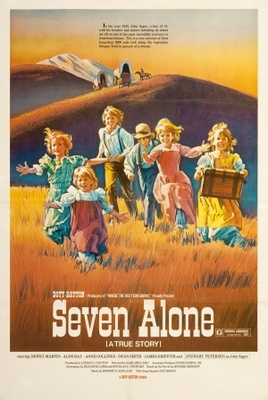 Seven Alone movie poster (1974) poster MOV_bcad0e00