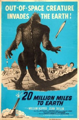 20 Million Miles to Earth movie poster (1957) poster MOV_bce6b0b0