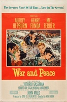 War and Peace movie poster (1956) picture MOV_bcfce283