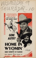 Home in Wyomin' movie poster (1942) picture MOV_bd00a227