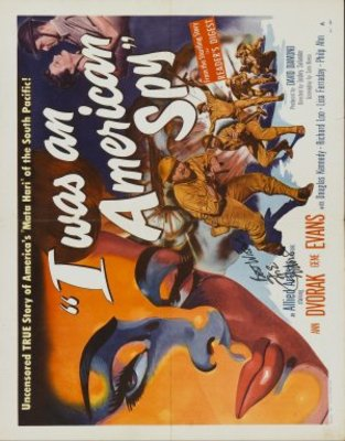 I Was an American Spy movie poster (1951) poster MOV_bd110b19