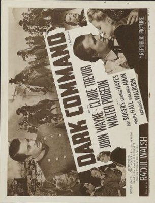 Dark Command movie poster (1940) poster MOV_bd2d8414
