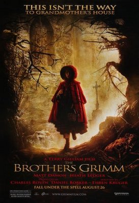 The Brothers Grimm movie poster (2005) poster MOV_bd3dcdff
