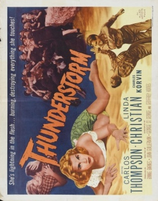 Thunderstorm movie poster (1956) poster MOV_bd3e42a9