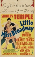 Little Miss Broadway movie poster (1938) picture MOV_bd4217e2