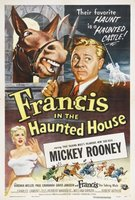 Francis in the Haunted House movie poster (1956) picture MOV_bd4ead95