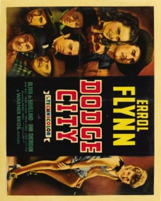 Dodge City movie poster (1939) poster MOV_bd61a697