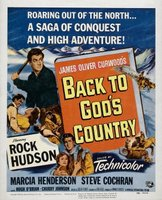 Back to God's Country movie poster (1953) picture MOV_bd737bac