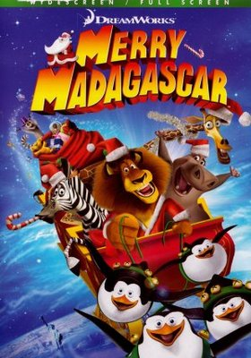 Merry Madagascar movie poster (2009) poster MOV_bd7d2f63