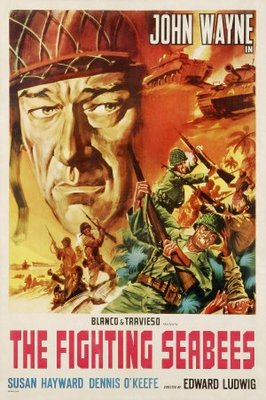 The Fighting Seabees movie poster (1944) poster MOV_bd8001ff