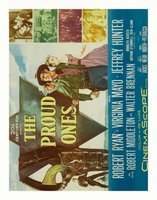The Proud Ones movie poster (1956) picture MOV_bd82b55b