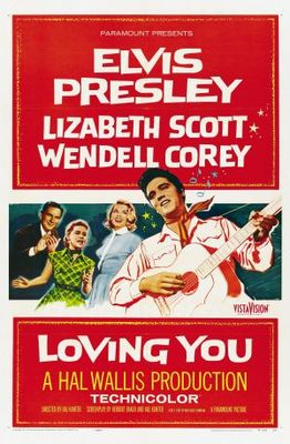 Loving You movie poster (1957) poster MOV_bd8a43a2