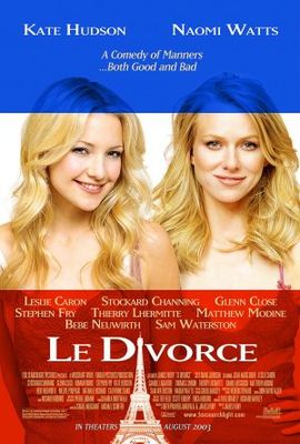 Divorce, Le movie poster (2003) poster MOV_bda640cb