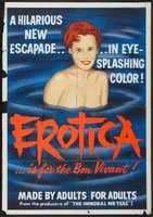 Erotica movie poster (1961) picture MOV_bda820bb