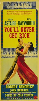 You'll Never Get Rich movie poster (1941) poster MOV_bda8321b