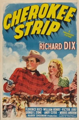 Cherokee Strip movie poster (1940) poster MOV_bda8e1f7