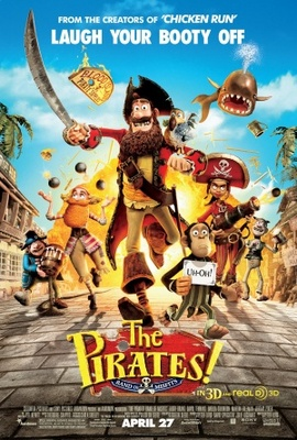 The Pirates! Band of Misfits movie poster (2012) poster MOV_bdc2e1ea