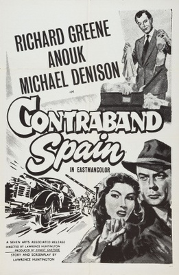 Contraband Spain movie poster (1955) poster MOV_bdd03437