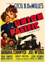 Union Pacific movie poster (1939) picture MOV_bded0bb1
