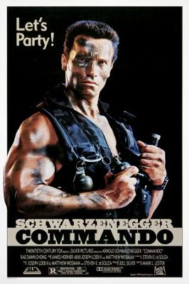 Commando movie poster (1985) poster MOV_be00c020
