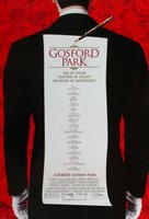 Gosford Park movie poster (2001) picture MOV_be14f16b
