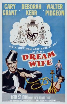 Dream Wife movie poster (1953) poster MOV_be160512