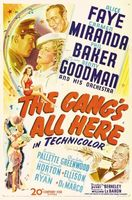 The Gang's All Here movie poster (1943) picture MOV_be16302e