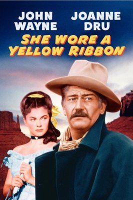 She Wore a Yellow Ribbon movie poster (1949) poster MOV_be2163ef