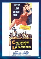 Charge of the Lancers movie poster (1954) picture MOV_be23a9b8