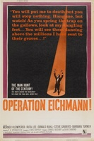 Operation Eichmann movie poster (1961) picture MOV_be24234f