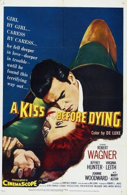 A Kiss Before Dying movie poster (1956) poster MOV_be3aa64a