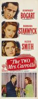 The Two Mrs. Carrolls movie poster (1947) picture MOV_be40879d