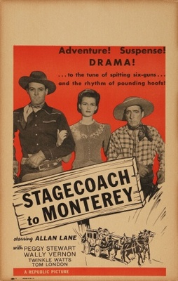 Stagecoach to Monterey movie poster (1944) poster MOV_be4497bc