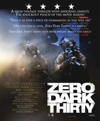 Zero Dark Thirty movie poster (2012) poster MOV_be46553f