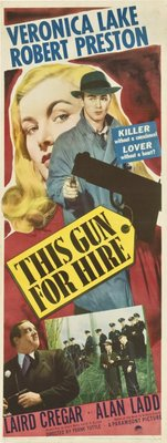 This Gun for Hire movie poster (1942) poster MOV_be55c1bc