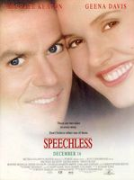 Speechless movie poster (1994) picture MOV_be69f8b2