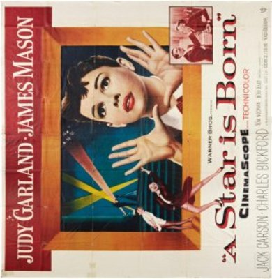 A Star Is Born movie poster (1954) poster MOV_be812d18