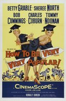 How to Be Very, Very Popular movie poster (1955) picture MOV_bea9766c