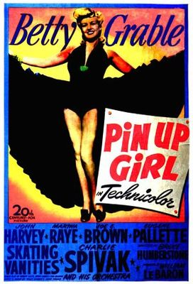 Pin Up Girl movie poster (1944) poster MOV_beb666af