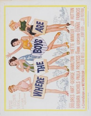 Where the Boys Are movie poster (1960) poster MOV_bec74ec8