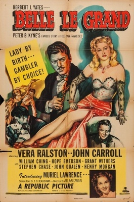 Belle Le Grand movie poster (1951) poster MOV_bedc56fa