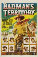 Badman's Territory movie poster (1946) picture MOV_bee68cab