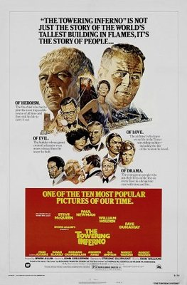 The Towering Inferno movie poster (1974) poster MOV_beed1d46