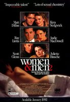 Women & Men 2: In Love There Are No Rules movie poster (1991) picture MOV_bef239e9
